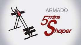 5 minutes shaper ejercicio - abdomen - cardio