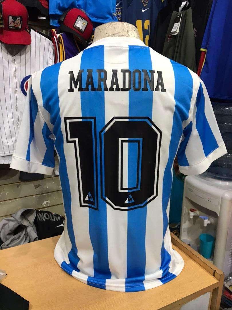 Camiseta retro afa diego maradona s al xxl 0