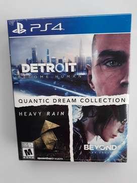 Detroit Heavy Rain Beyond two souls PS4 Nuevo y Sellado