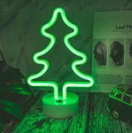 Arbol LED de Navidad LAMPARA decoración mesa noche navidad