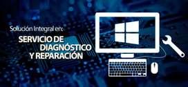 Técnico de computadoras y laptops, cámaras de seguridad