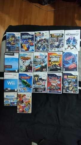 Vendo juegos de Nintendo wii