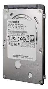 Vendo disco rigido Toshiba 500gb slim