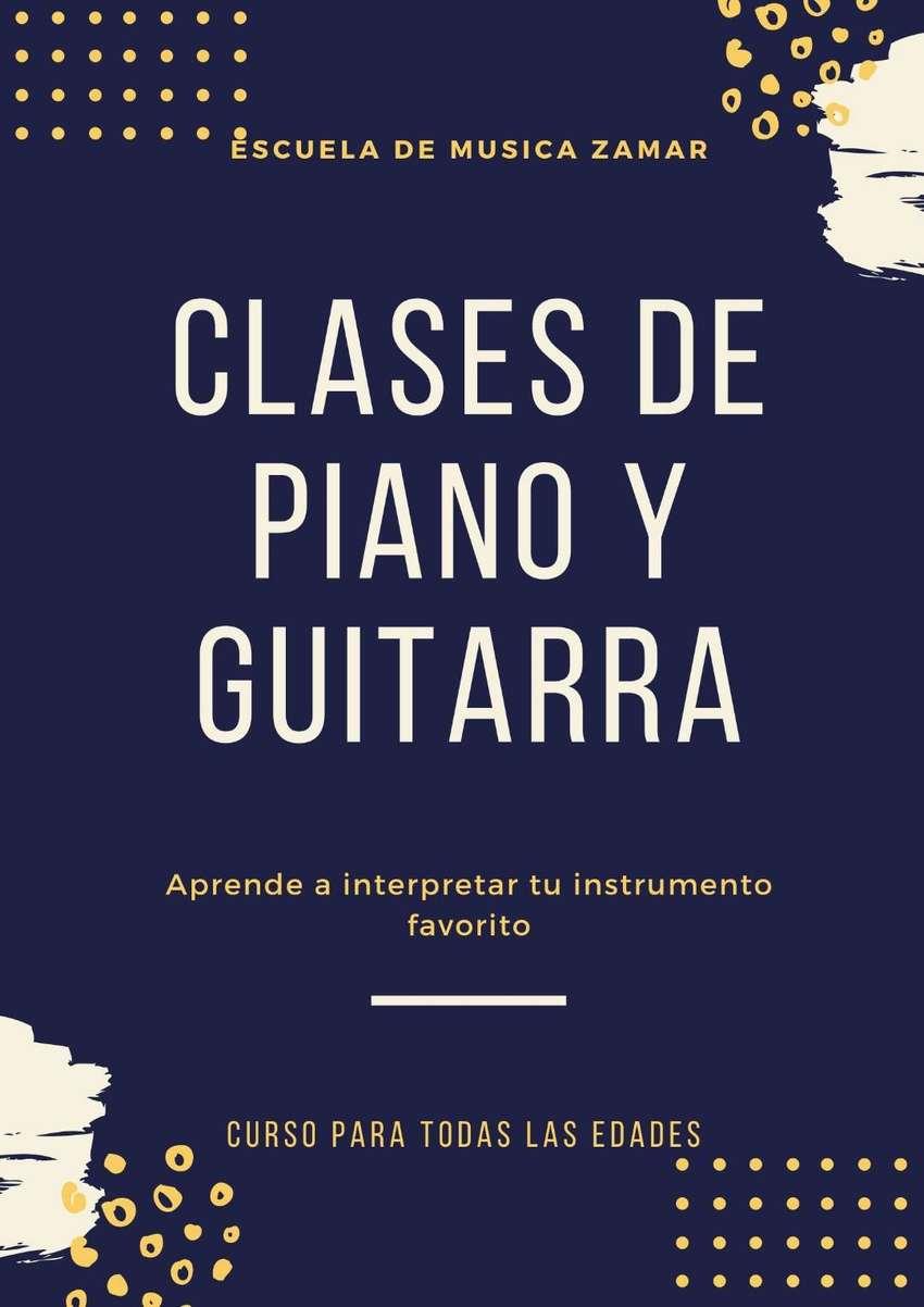 CLASES DE PIANO Y GUITARRA TODAS LAS EDADES 0
