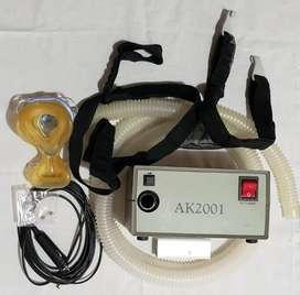 CPAP – Akonic - mod. AK2001 - UNICO con conexión 12 V para encendedor del auto