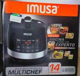CHEF IMUSA MULTICHEF olla multi chef