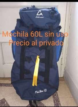 VENDO MOCHILA CAMPINOX 60 LTS