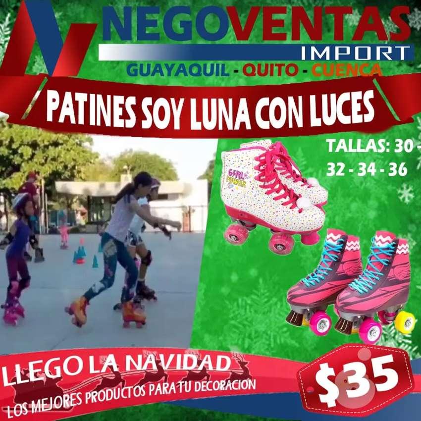 PATINES SOY LUNA CON LUCES LED Y BLUETOOH TALLA 32 0