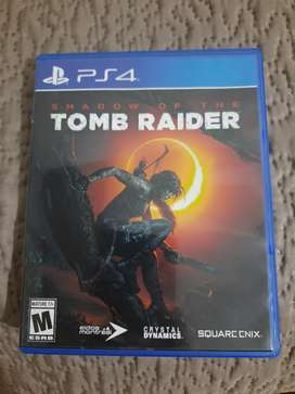 Juego ps4 shadow of the tom raider