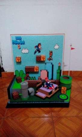 escenarios super Mario Bros 3