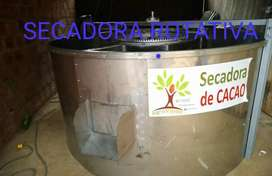 Secadora de cacao, maiz  30 qq en acero inoxidable