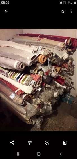 Remanente de telas de telas de tapicería