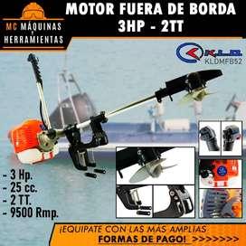 MOTOR FUERA DE BORDA 3HP 52CC