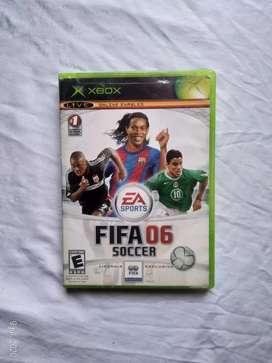 Juego XBOX  original FIFA 06