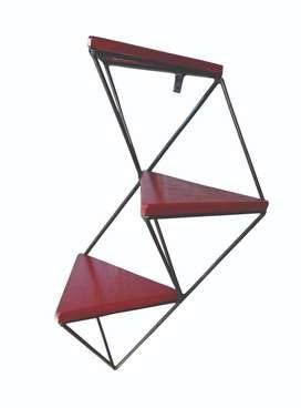 Estante geometrico triángulos