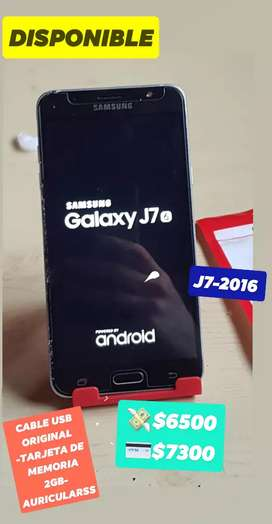 SAMSUNG J7-2016  IMPECABLE
