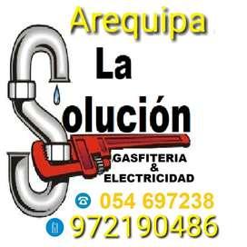 GASFITERO ELECTRICISTA TANQUES DE AGUA TERMAS BAÑOS SANITARIOS PRESURIZADORES HIDRONEUMATICOS PRESION CONSTANTE  FUGAS