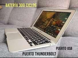 Vendo cambio Macbook Air 11 Core i5 con 4gb en ram y 128  sdd