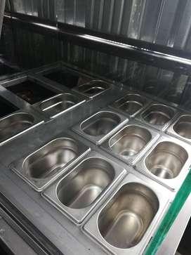 Vitrina Refrigerada para Frutas o Salsas