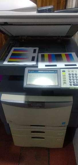 Fotocopiadora láser negro y color