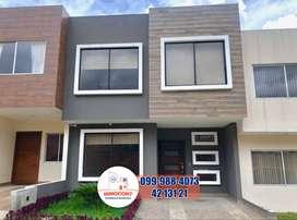 Casa de venta por estrenar con interés VIP, Misicata Cuenca, C762