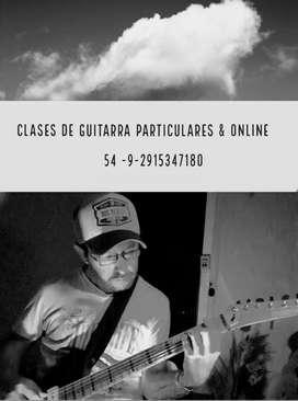 Clases de guitarra particulares