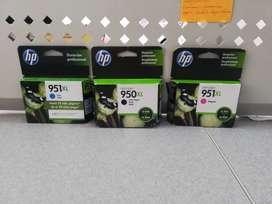 Cartucho de tinta HP 950XL y 951XL
