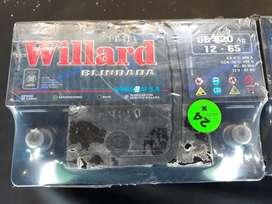 Bateria Willard 12 X 65