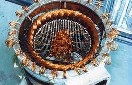 Bobinado de motores y bombas de agua