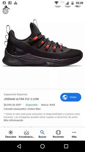 Vendo JORDAN ULTRA FLY 2 Low