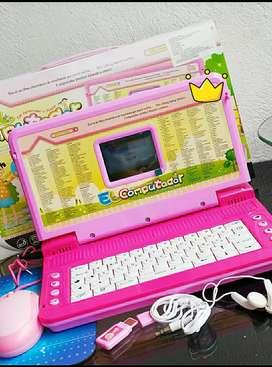 Computador de juguete para niña