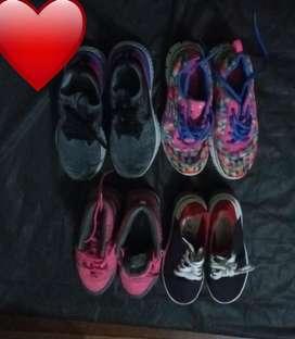 Zapatillas, zapatos y botas
