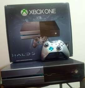 Xbox One Fat 1 TB Edición Halo 5