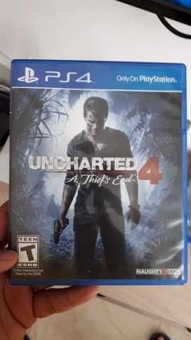 Se Vende Uncharted 4 Usado
