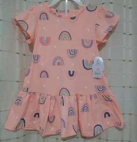 Lindo vestido de niña americano