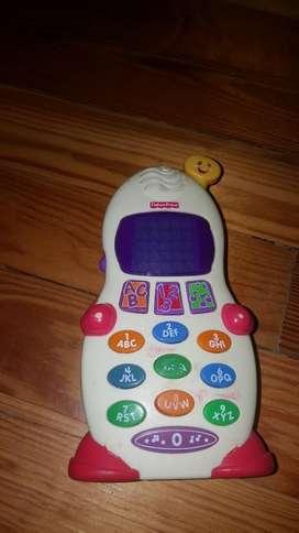 Fisher Price Telefono Interactivo