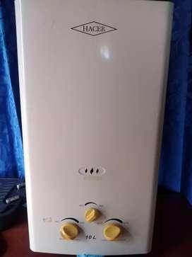 Vendo calentador haceb 10 litros