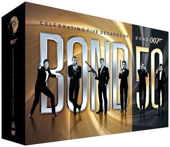 ACEPTO OFERTAS Colleción Completa - 50 años de James Bond 007 (23 peliculas) 0