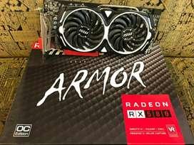 Tarjeta De Video Msi Radeon Rx 580 Directx 12 Armor 8g Oc