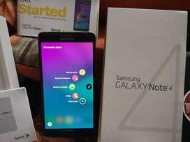 Samsung Note 4  Generacion Impecable Cien porciento Autentico todo Optimo conservo su Caja y Equipamientos