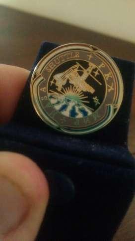 Nasa Escudo Pin Original Espectacular