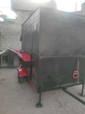 Food Truck como nuevo recién pintado