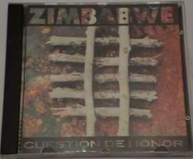 Zimbabwe. Cuestión de Honor. Cd original