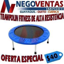 TRAMPOLIN FITNESS DE ALTA RESISTENCIA