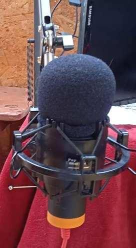 Se vende micrófono completo