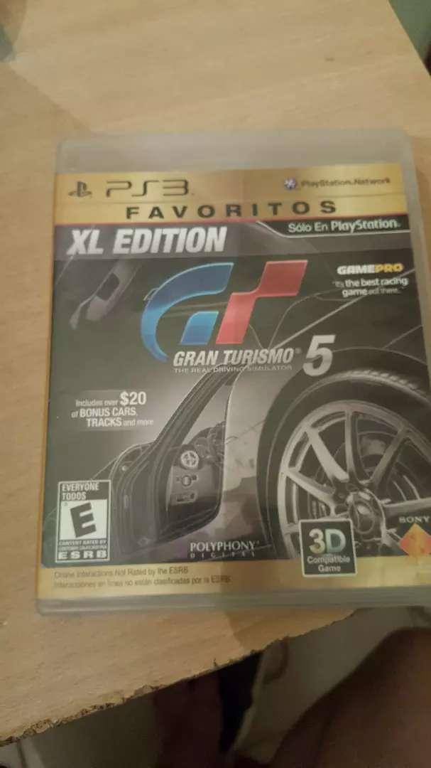 Vendo juego Gran Turismo 5 Xl Ps3