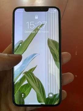 Iphone X 64gb blanco (sin face ID)