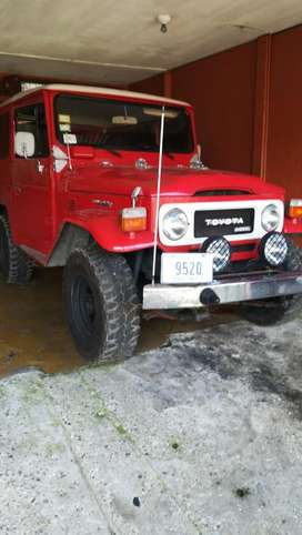 Toyota Land Cruiser año 80