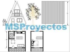 Planos de Arquitectura básica/Piezas mecánicas/Diseños industriales