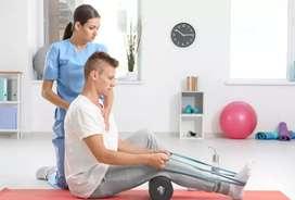 Ofresco servicios de fisioterapia a domicilio